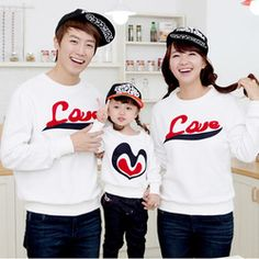 Online Shop Fashion Family T Shirt Clothing Spring Autumn Long Sleeves Tees Mother Father Son Daughter Girl Boy Child T-shirt Family Clothes|Aliexpress Mobile