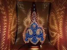 Boho chic authentic handmade gourd lamp natural material home decor #kabajur #shiny #tablelamp #home #decor #homedecor #oriental #decoration