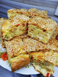 Greek Recipes, Baby Food Recipes, My Recipes, Greek Cake, Appetizer Recipes, Dessert Recipes, Greek Pastries, Pizza Cake, Savory Muffins