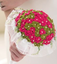 How To Make A Crochet Wedding Bouquet | FREE Crochet Pattern | DIY Wedding