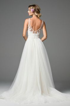 Shop designer bridal gowns like the Locklin Style 18730 dress by Wtoo and other bridal accessories at Blush Bridal.