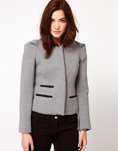 IRO structured blazer with pleated shoulder | sale $156.28, reg $565.25 | IRO size 1 (US 4)