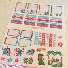 Aloha Ohana Planner Stickers by kawaiislandgurl72 on Etsy