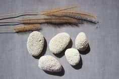 5 pierres ponces naturelles plage ocean soin decoration peau salle de bain accessoire collection