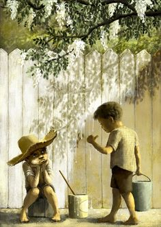Jeremy Norton Illustration - Tom Sawyer