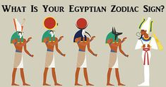 This Is What Your Egyptian Zodiac Sign Reveals About Your Personality