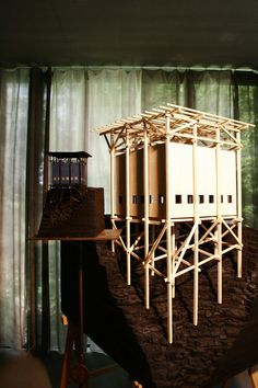 Peter Zumthor // A selection of the models by Peter Zumthor, belonging to the KU. - Peter Zumthor // A selection of the models by Peter Zumthor, belonging to the KUB Bregenz collectio - Architecture Model Making, Wood Architecture, Chinese Architecture, Ancient Architecture, Sustainable Architecture, Architecture Details, Architecture Sketchbook, Architecture Portfolio, Timber Structure
