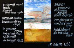 Monique Luiken  Titel: Ik adem uit Thema: Wijk aan Zee wat doet het met je?
