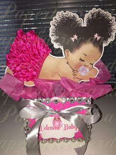 Clipart Instant Download Sitting Ballerina Ice Cream Cone Sprinkles Pink Tutu Gold Crown Baby Girl 3 Skin Tones Puffs