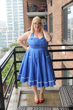 Hell Bunny Kleid,geil siehst du aus.