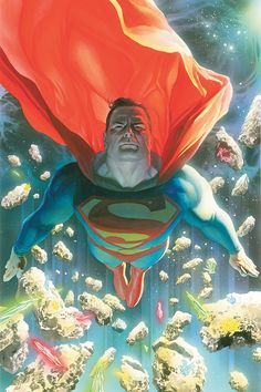 SUPERMAN by •Alex Ross