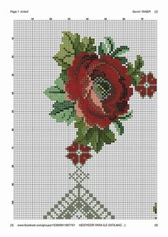 Grapevine Wreath, Cross Stitch Embroidery, Stitch Patterns, Handmade, Galleries, Design, Model, Pink Tablecloth, Poppies