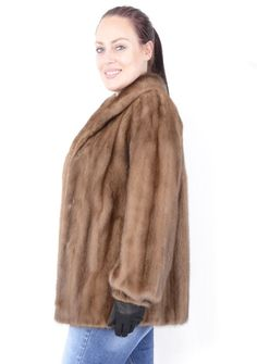 Extra Off Coupon So Cheap beauty Real Women Ranch Mink Fur Jacket Female Skins Fur coat Size L Mink Jacket, Vest Jacket, Jackets For Women, Clothes For Women, Mink Fur, Real Women, Beauty Women, Ranch, Female