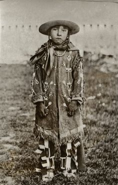 ABSAROKE BOY Absaroke or Absaroka, a Native American people also known as the Crow