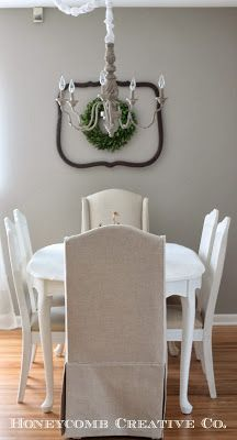 French provencial dining table with cane back chairs