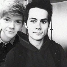 With Thomas Brodie-Sangster !!
