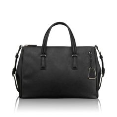 Tumi Sinclair Stella Double Zip Carry-All Work Handbag, Tumi, Briefcase, Carry On, North America, Zip, My Style, Polyvore, Bags