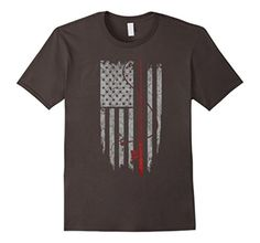Men's Fishing US Flag Shirt XL Asphalt - Brought to you by Avarsha.com