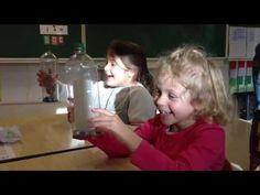 Rekenoefening: splitsen van getallen met een splitsfles