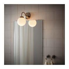 LILLHOLMEN Wandlamp IKEA Flexibel, kan worden gemonteerd met de lichtbundel naar boven of naar beneden.