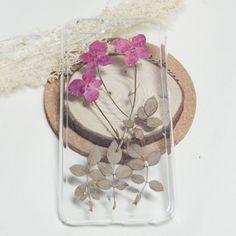 Pressed flower samsung galaxy s7 case iphone 6s by FancyPocketvivi