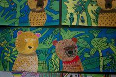 Mrs. Levine's Elementary Art Blog: Henri Rousseau Jungle Paintings