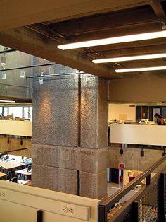 Art and Architecture - atrium intermediate level 2 - Paul Rudolph   Flickr - Photo Sharing!
