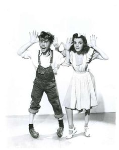 Mickey Rooney and Judy Garland...was there ever a cuter pair??