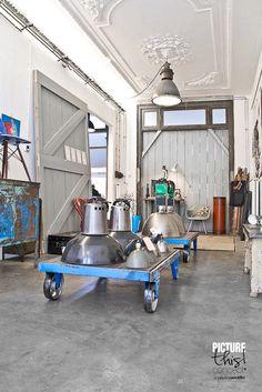 industrial vintage, industrial style interior, industrial style shop