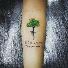Redwood Tree Tattoo Small Paths Ideas For 2019 Large Tattoos, Cute Tattoos, Body Art Tattoos, Sleeve Tattoos, Tatoos, Tattoo Small, Wrist Tree Tattoo, I Tattoo, Oak Tree Tattoo