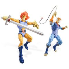 Celebrate the (long overdue) Thundercats reboot with these immaculate poseable action figures, based on the characters from the original series.