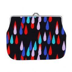 Pisaroi puolikas purse by Marimekko Marimekko, Nordic Design, Cloth Bags, Online Shopping Stores, Surface Design, Urban Fashion, Print Patterns, Branding Design, Coin Purse