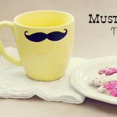 Mustache Mug {Homemade Father's Day Gifts}
