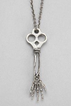 Rust & Regret Skeleton Key Necklace