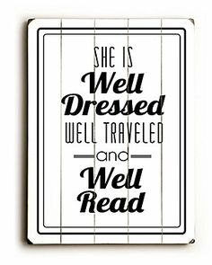 'Well Dressed & Well Traveled' by Amanda Catherine