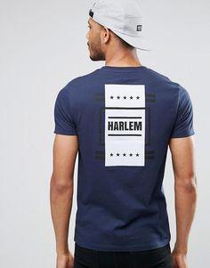 ASOS | ASOS T-Shirt With Harlem Flag Back Print