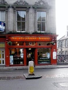The Elephant House has claimed itself to be the birthplace of Harry Potter. This is where JK Rowling began penning her novels.