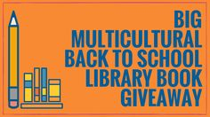 Parents, teachers, and librarians have a chance to win a multicultural book bundle for their school library.