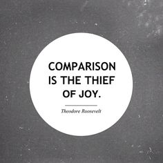 Amazing article by Beth Moore on comparions in social media