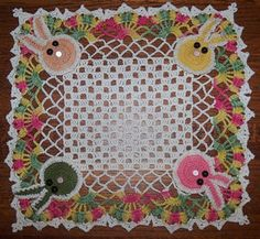 Another Easter doily!