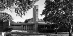 1971 AIA National Twenty-five Year Award Recipient- The Crow Island School in Winnetka, Illinois; designed by Perkins, Wheeler & Will; Eliel & Eero Saarinen