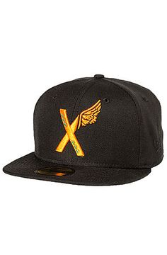 10 Deep Hat Tribal X-Wing New Era Fitted in Black New Era Fitted 0f5da397fc2