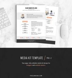 32 Best Media Kit Design Examples Images On Pinterest