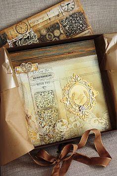 Un mini-album (je crois...) de Ana Paula Leal. Très harmonieux. Des décos sublimes.