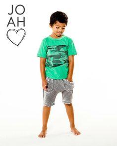 AUSTIN V-Neck in Aqua- Joah Love Spring 2014 #joahlove #kids #boysclothes