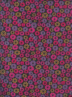 "Vintage Finnish Finlayson ""Top-Poplin"" Fabric designed by Juhani Konttinen in 1967."