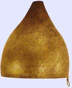 A Persian helmet from the booty captured by the Athenians after the battle of…