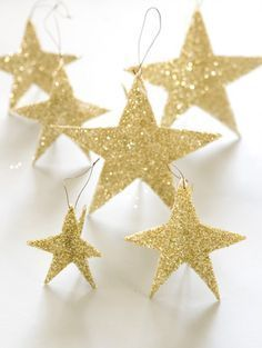 Tara Dennis - Christmas Craft - Shining star decorations