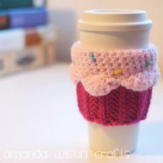 Crochet Cupcake Cozy