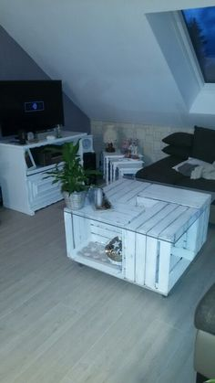ber ideen zu obstkisten tisch auf pinterest. Black Bedroom Furniture Sets. Home Design Ideas